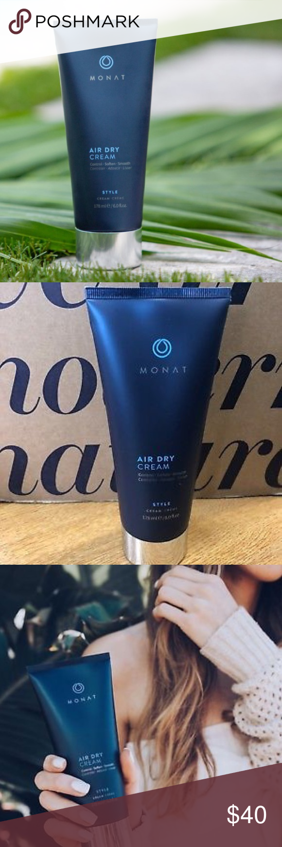 Monat Air Dry Cream— Control, Soften, Smooth Air dry
