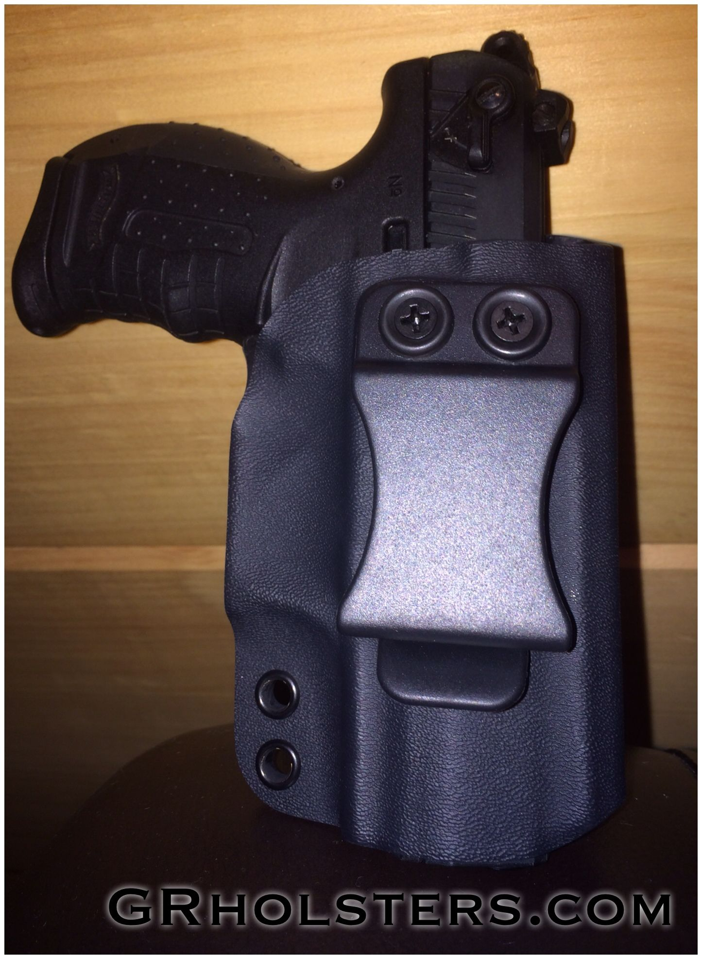 Walther P-22 IWB kydex holster  For more info visit GRholsters com