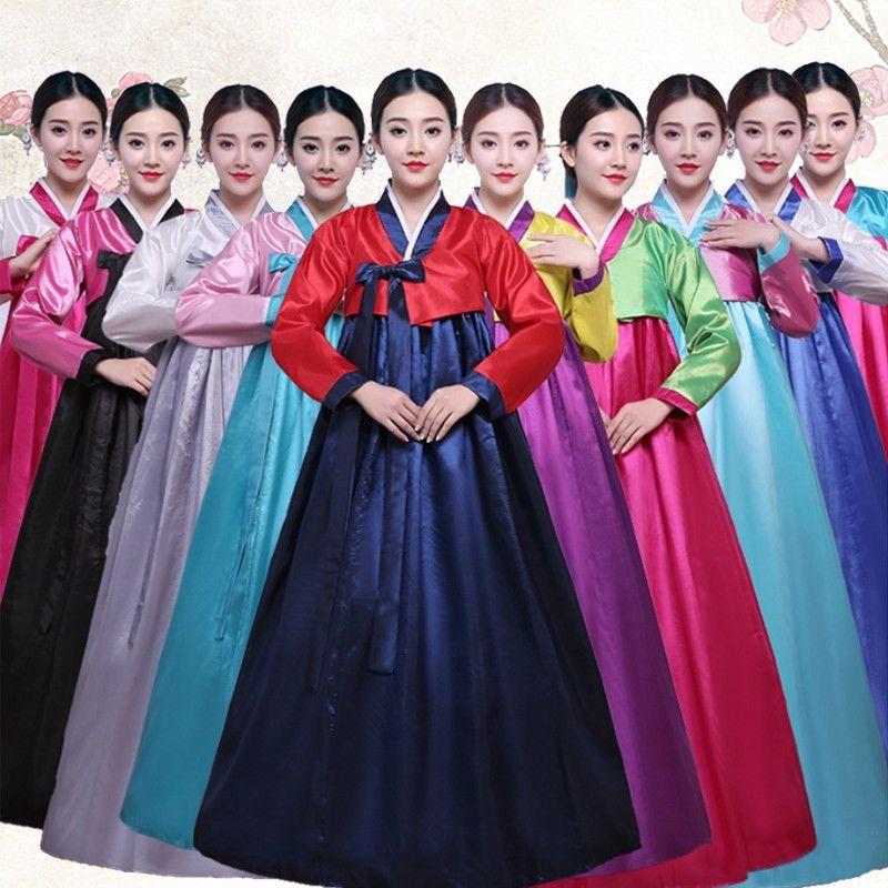e22a4a0a91 eBay #Sponsored Womens Korean Hanbok Dress Costume Ethnic Dance Traditional  Long Sleeve Cosplay