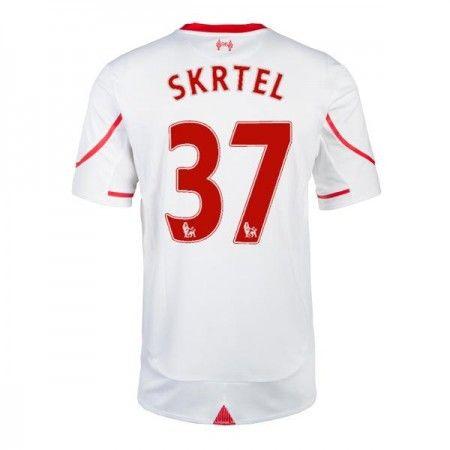 Günstige fußballtrikots Liverpool 15-16 Skrtel Auswärts Trikot