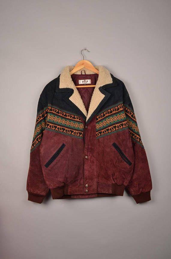 1c3cf505d aztec sherpa navajo bomber jacket aztec jacket aztec parka ...