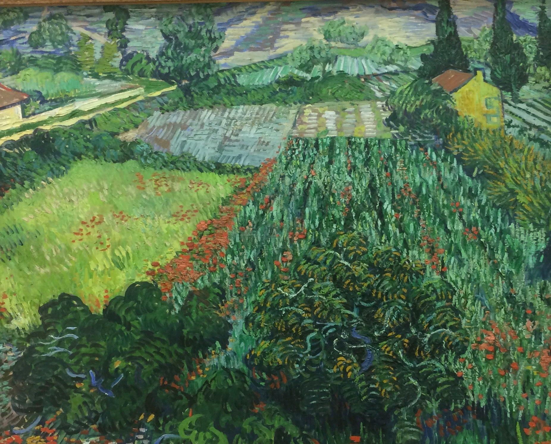 Van Gogh Mohnfeld 1889 Kunsthalle Bremen Vincent Van Gogh Paintings Van Gogh Art Artist Van Gogh