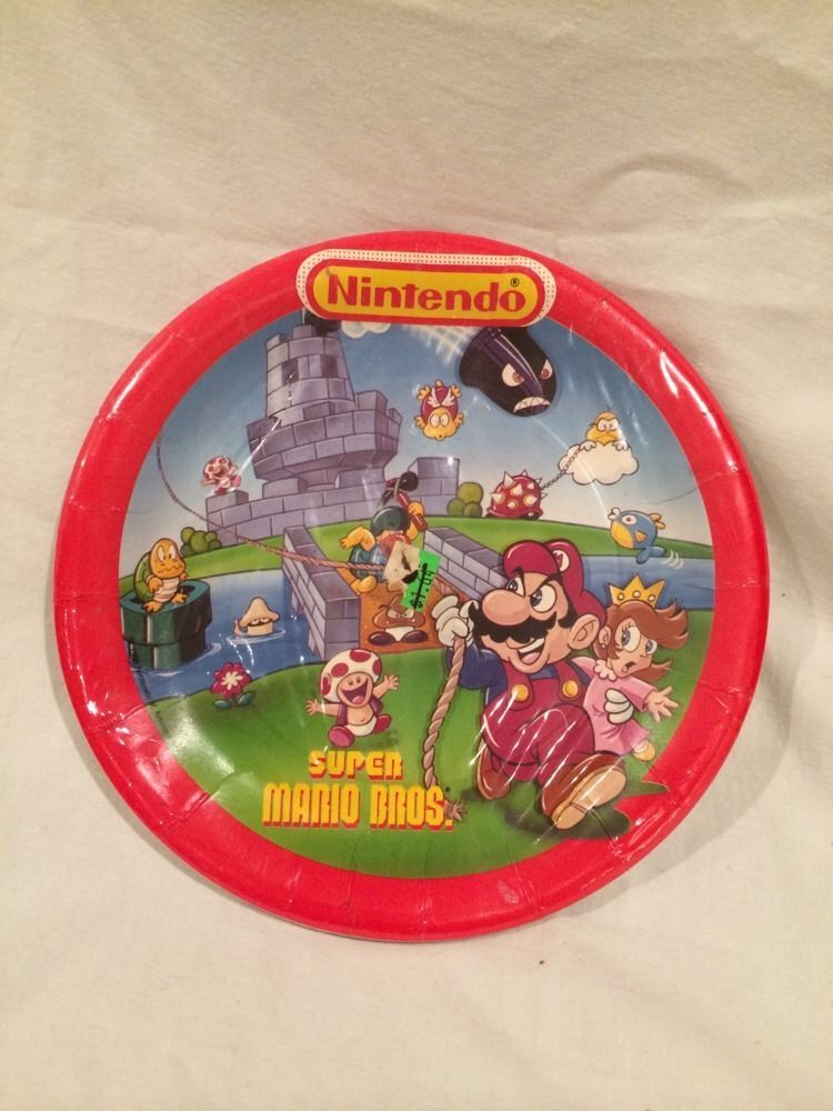Pinterest & This vintage 1988 Nintendo Super Mario party supplies would be ...