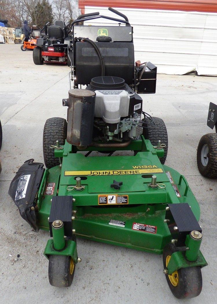 Used John Deere Wh36a 36 Walk Behind Lawn Mower 16 Hp Kawasaki Deck Engine Diagram And Parts List For Snapper Walkbehindlawnmower Wh36aused