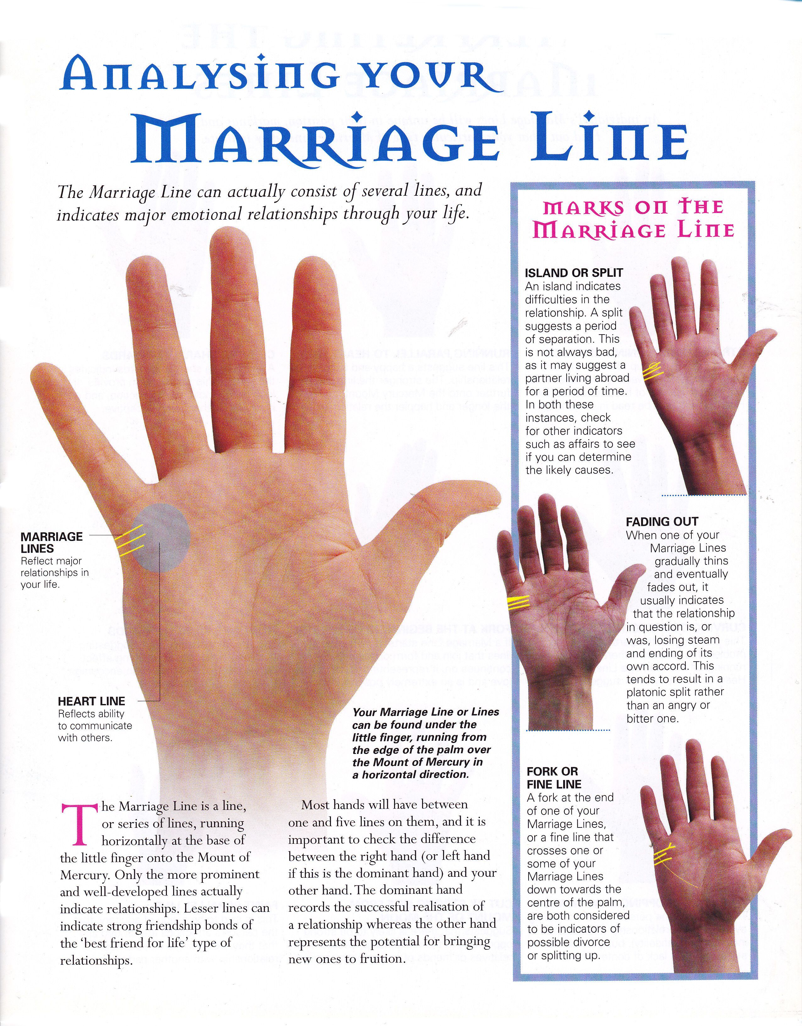 Palmistry Diagram Marriage Line Wiring For Photocell Switch Reading Your Enlightened Palm