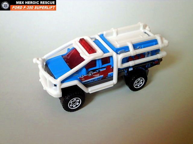 Matchbox Ford F-350 Superlift Arctic Recon