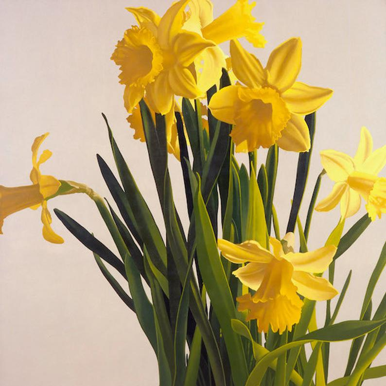 Daffodils Flower Flower Photography Yellow Flower Floral Etsy In 2020 Flowers Photography Daffodil Photography Daffodils