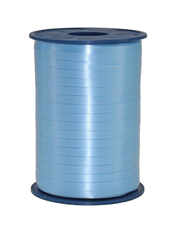 Light Blue Curling Ribbon 500m