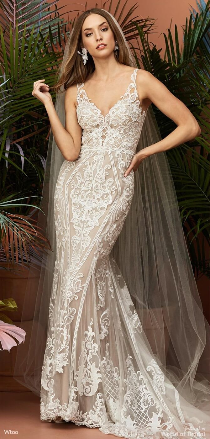 Turn Heads With Wedding Dresses From Watters Spring 2015 Bridal Collection picture