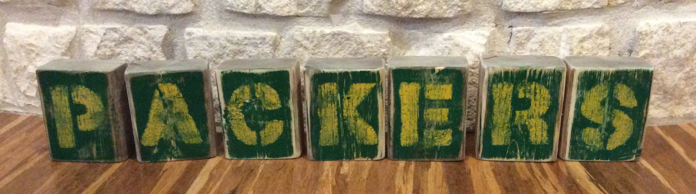 Green Bay Packers Rustic Home Decor