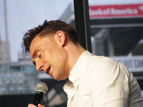Tom Hiddleston — NERD HQ, July 2013