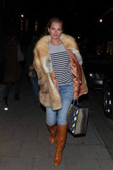 Kate Moss Fur Coat