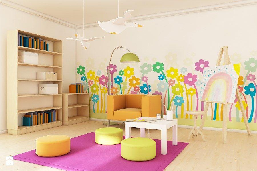 Kwiaty W Pokoju Dziecka Pokoj Dziecka Styl Nowoczesny Dekea Polska Little Girl Bedroom Kids Rugs Daughters Room