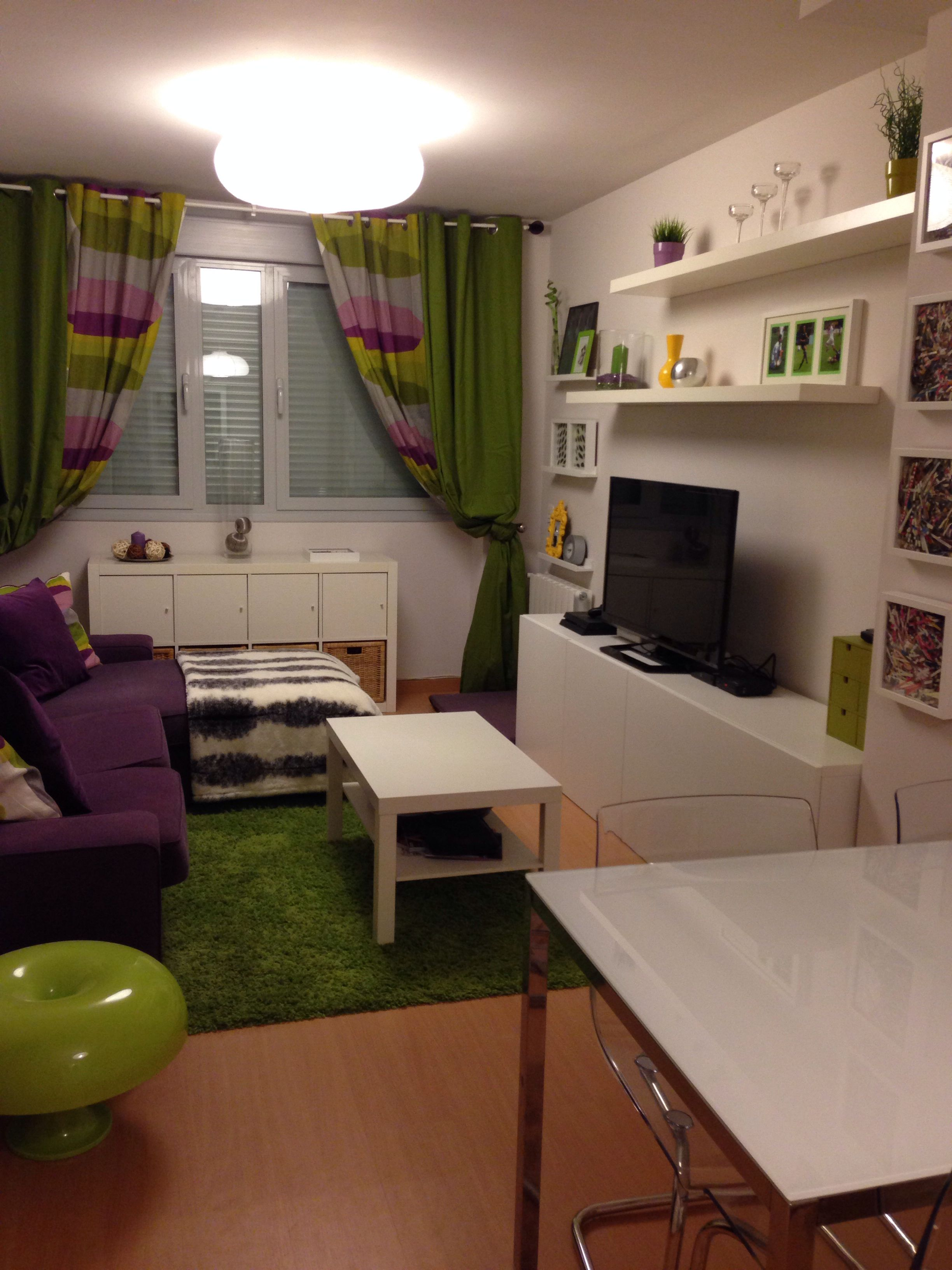 Conjunto de salón y comedor de Ikea   Decoration   Decor ...