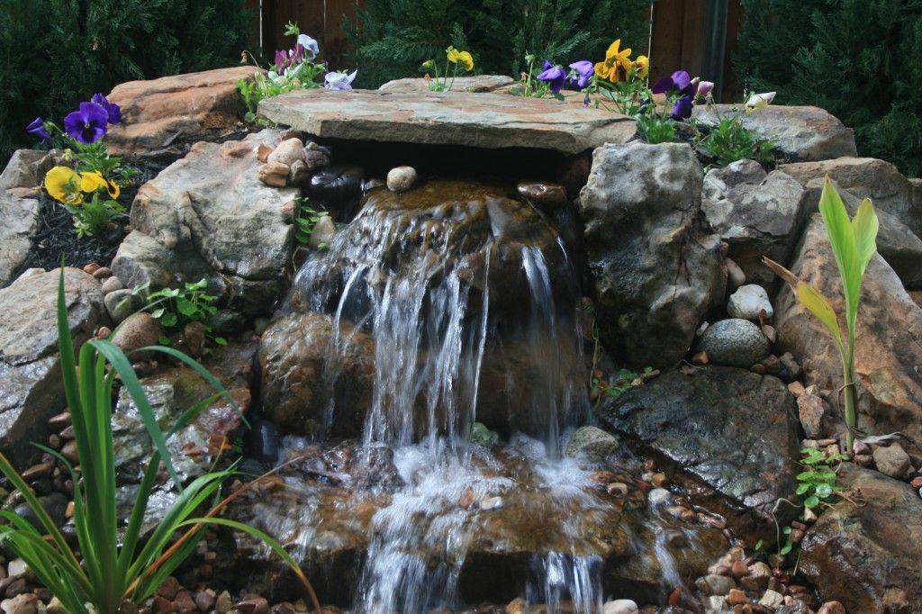 Pondless waterfall creatividad a intentar fuentes para for Plastico para lagunas artificiales