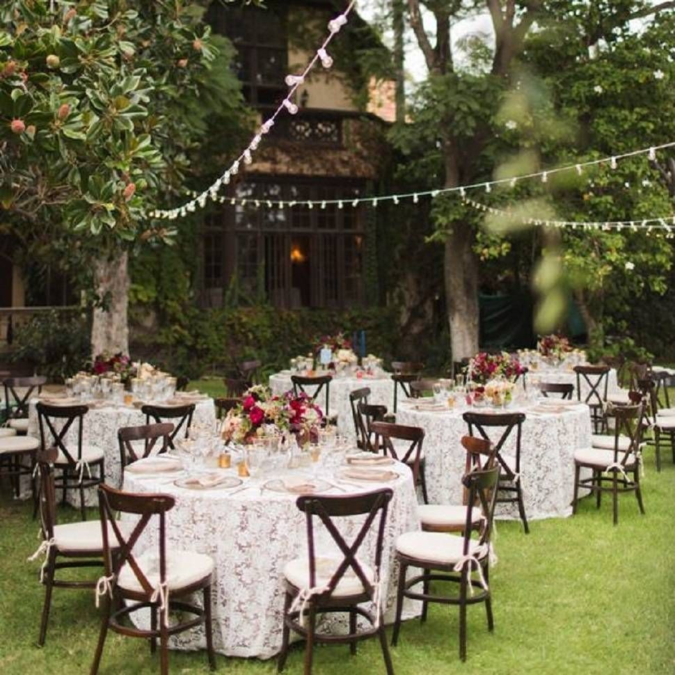 Classic Party Rentals, French Garden Wedding Featured On