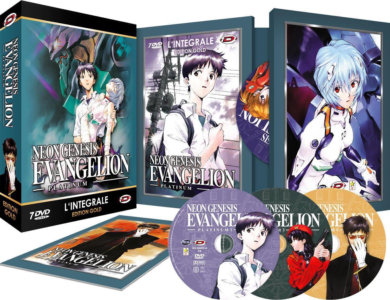 Evangelion (Neon Genesis) Intégrale (Platinum) Coffret