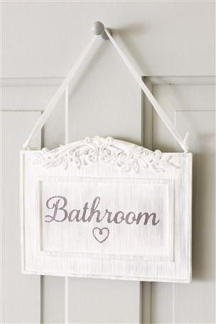 Cute Bathroom Sign Will Do It For My New Room House