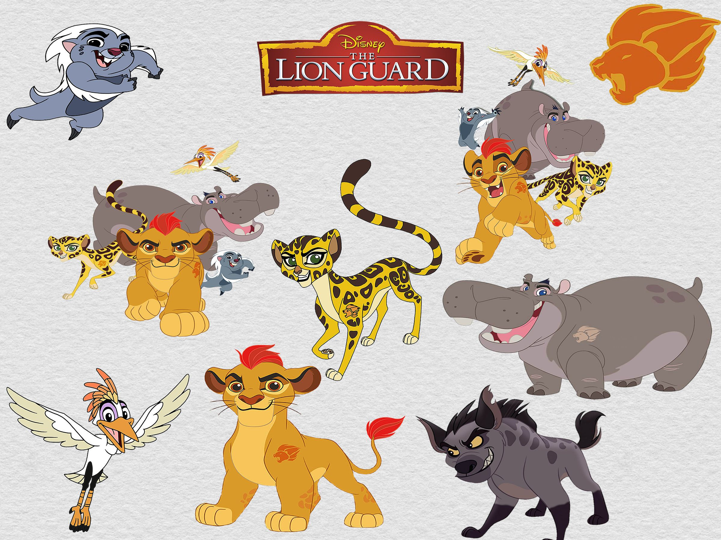 Lion Guard Clipart Clip Art 16 High Quality Png Images With Etsy Lion Guard Lion Guard Birthday Clip Art