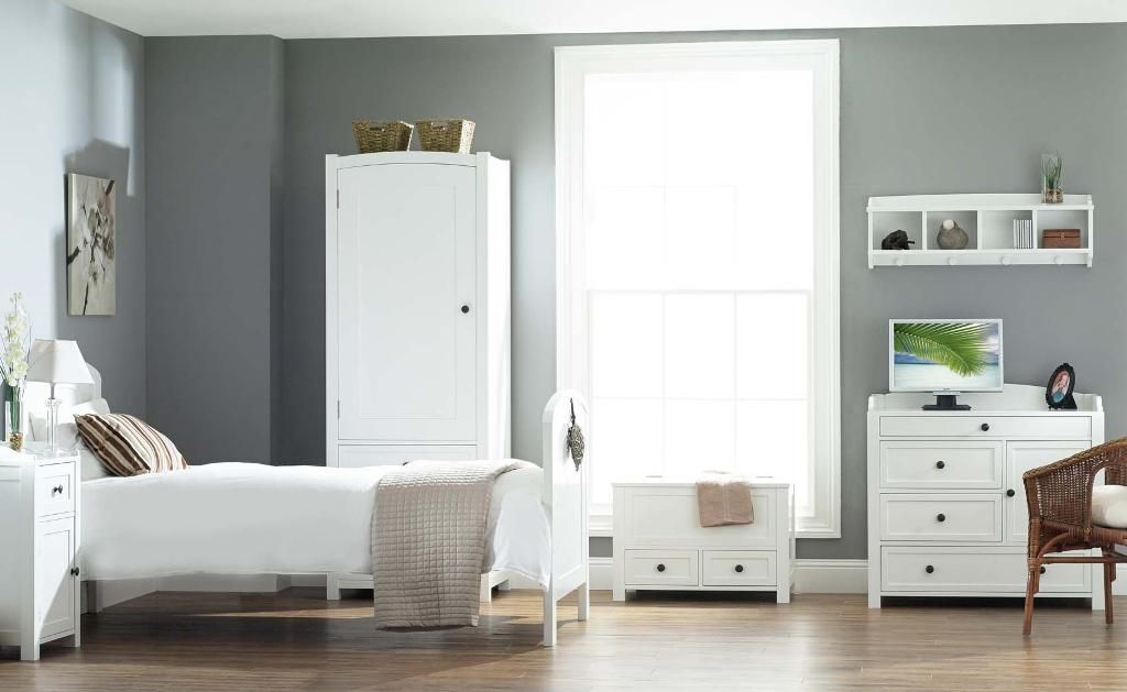 White wood bedroom furniture – a premium choice - Designalls