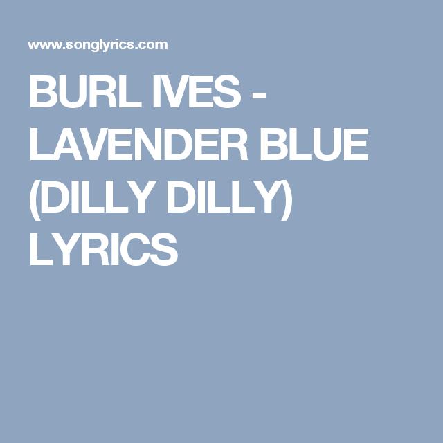 Dilly Dilly Lyrics