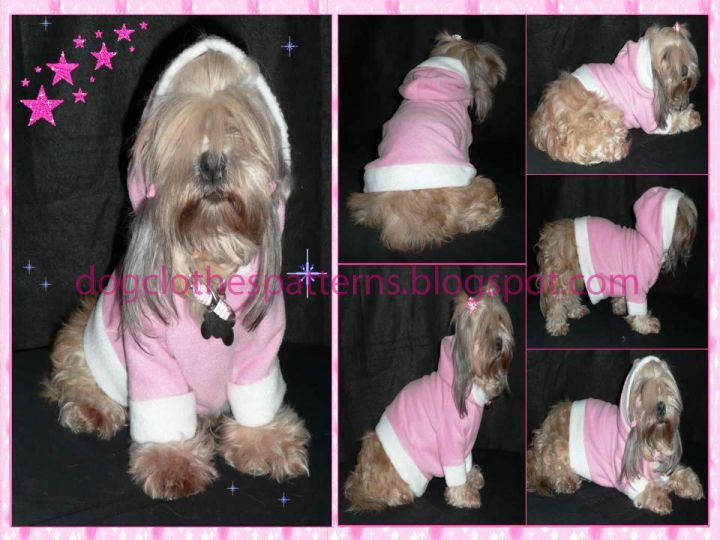 Free Dog Clothes Patterns: Dog Hoodie patterns | DIY/ Sewing ...