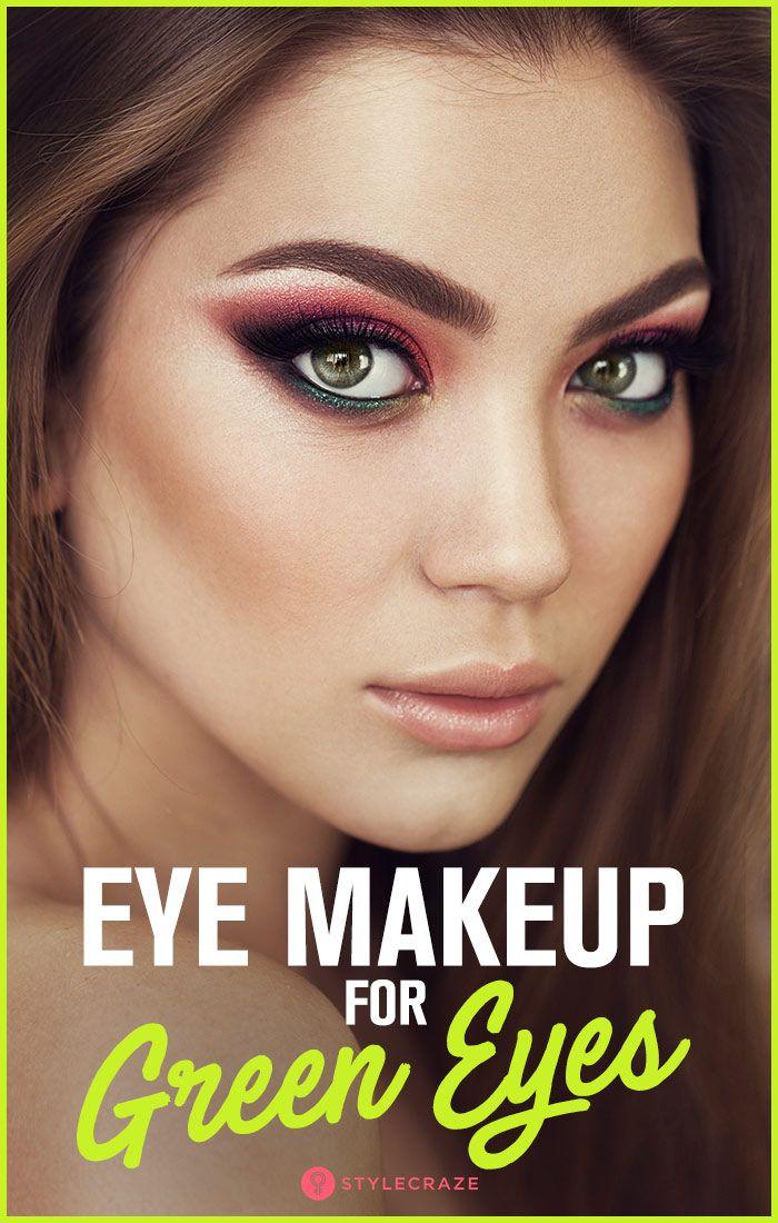 Eye Makeup For Green Eyes Makeup for green eyes, Eye