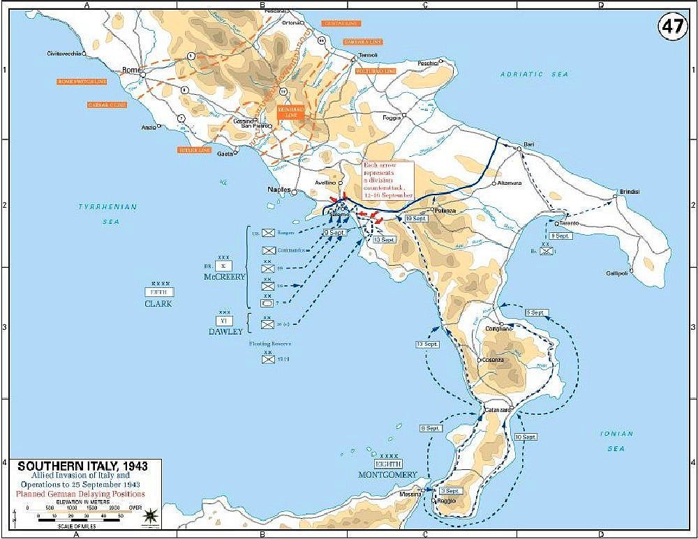 allied invasion of italy