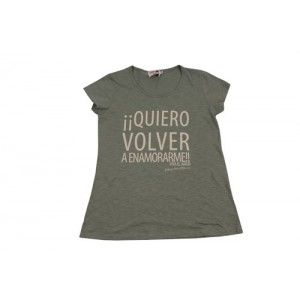 """Tienda Dolores Promesas - Camiseta """"Quiero volver a enamorarme"""""""