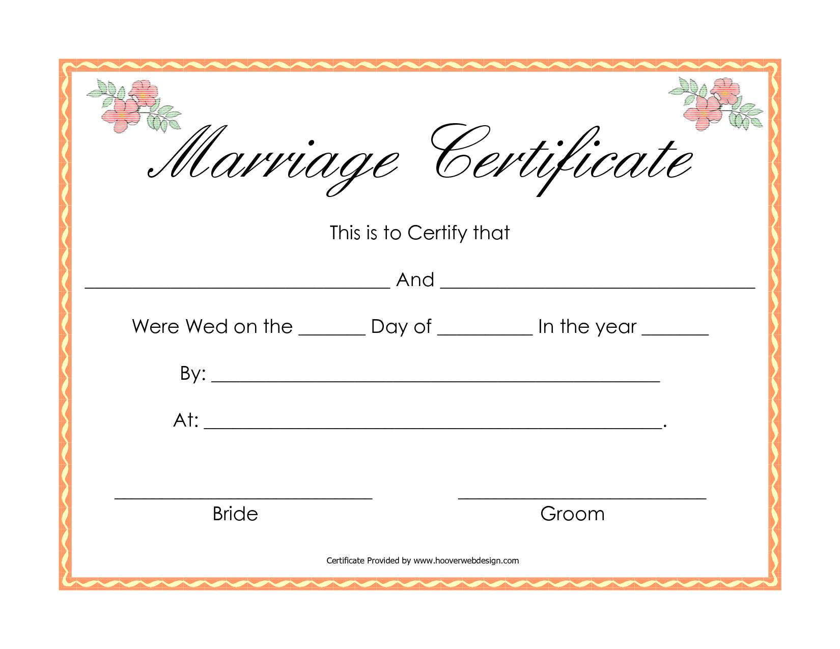 Fake Marriage Certificate Marriage Certificate Online Marriage Marriage Cards