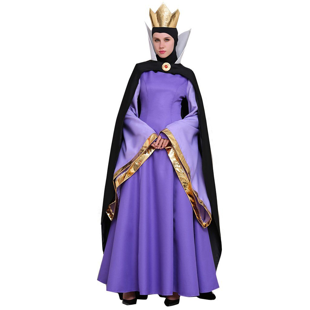 58b0b117419 CosplayDiy+Women's+Dress+Snow+White+Cosplay+Evil+Queen+Dress+Party+ ...