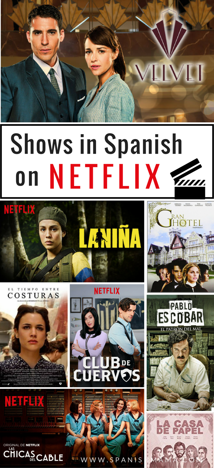 2019 Guide to the Best Spanish Shows on Netflix | Best of Spanish