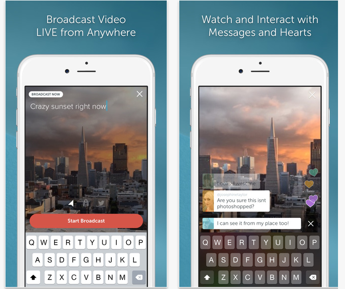 Twitter S Awesome Periscope App Can Make Anyone Into A Tv News Broadcaster Periscope App Live Streaming App Live Video Streaming