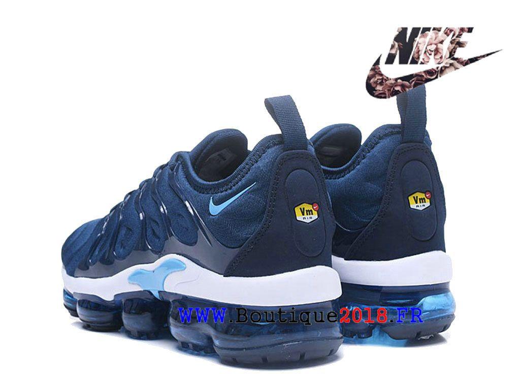new styles 254e4 3858a Nike Air VaporMax Plus Chaussures Nike TN Officiel Pas Cher Pour Homme Bleu  Blanc AO4550-ID10