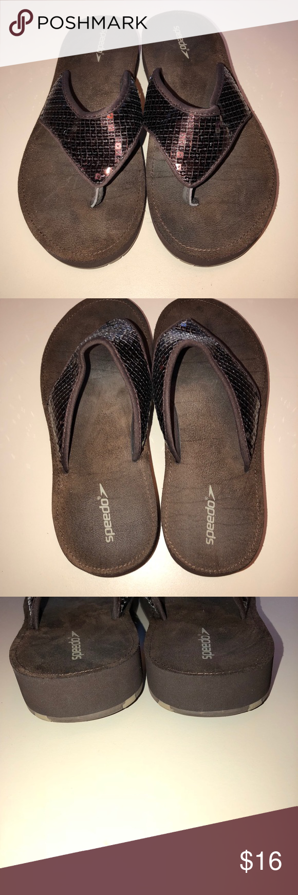 d6e7ab27f954f8 Speedo Sandals Excellent condition size 8 Speedo sandals! See photos for  details ) Speedo Shoes Sandals