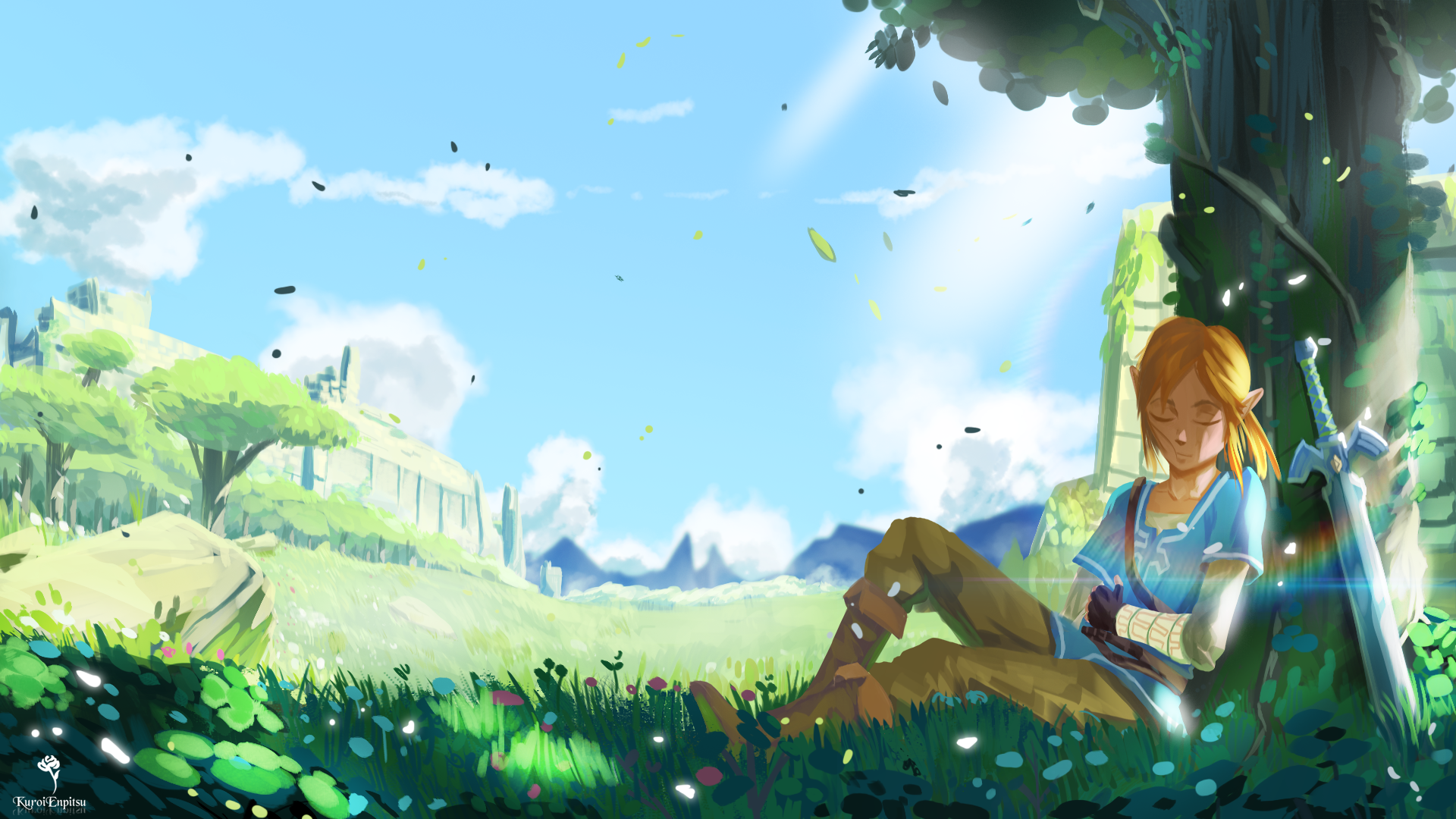 1920x1080 The Legend Of Zelda Breath Of The Wild Wallpaper
