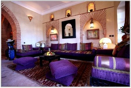 1000 images about salon marocain beldi on pinterest mauve the purple and search - Decoration Salon Moderne Taupe