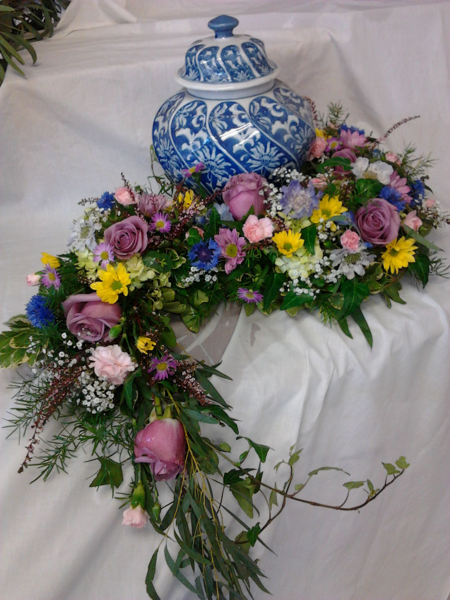 Custom funeral flowers floral options pinterest funeral custom funeral flowers izmirmasajfo