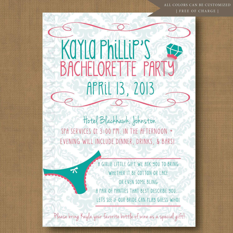 Bachelorette Invitation Bachelorette Party Invitation lpo template ...