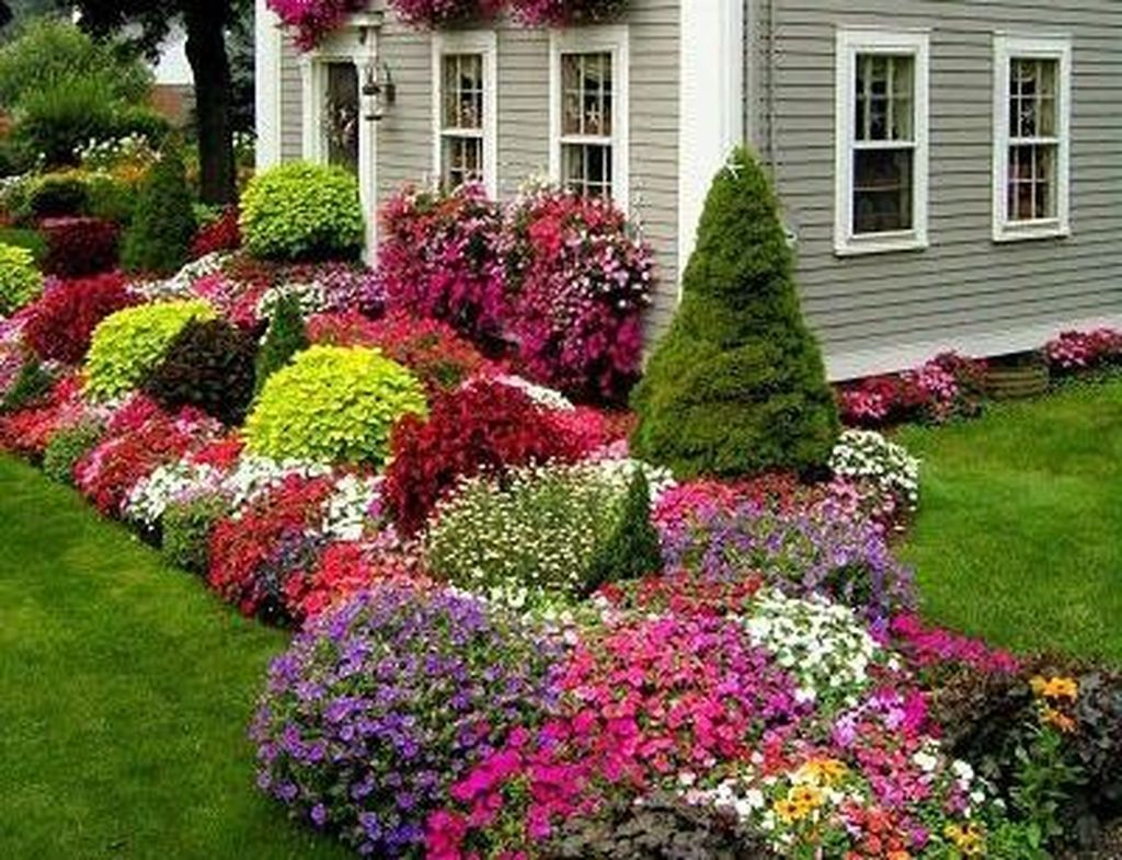 Pin by Anthony High on Backyard Backyard flowers beds