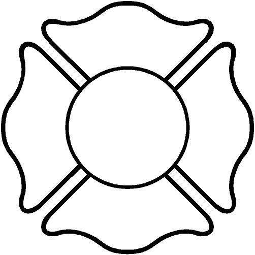 Fire Maltese Cross Clip Art Firefighter Cross Clipart Cross Coloring Page Maltese Cross Firefighter Maltese Cross