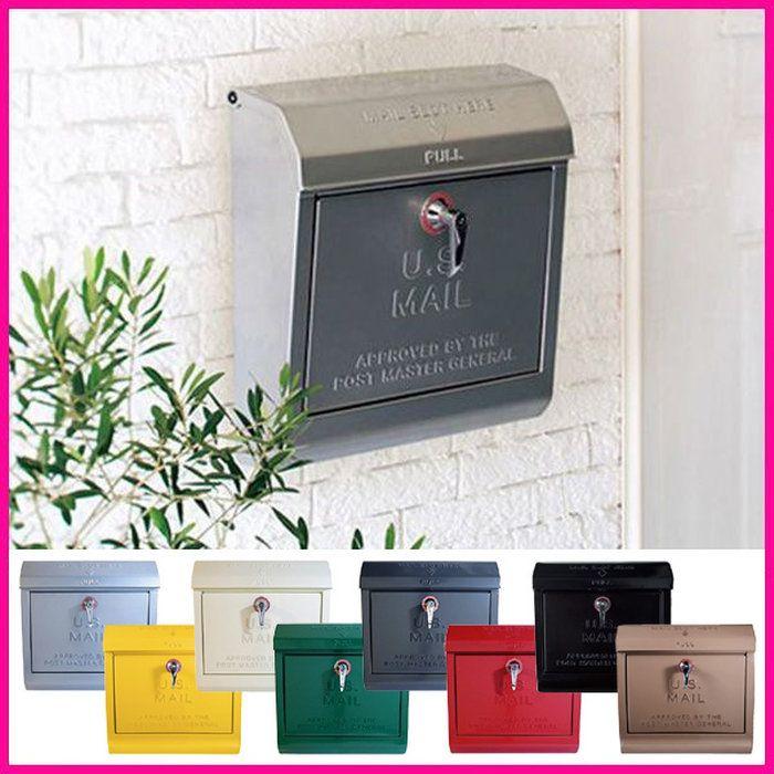 楽天市場 郵便受け 送料無料 アメリカンスタイルのu S Mailbox