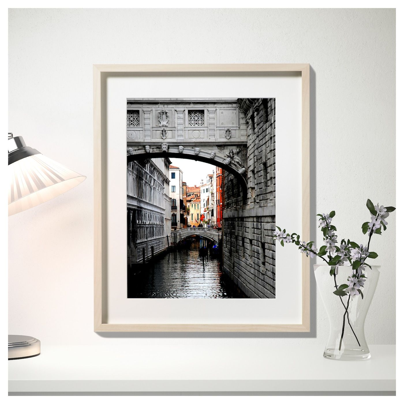 "HOVSTA Frame, birch effect birch, 16 ¼x20"" IKEA Frame"