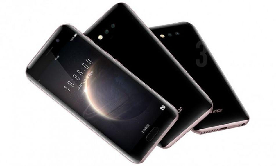 Huawei honor magic unveiled curvy body dual cameras