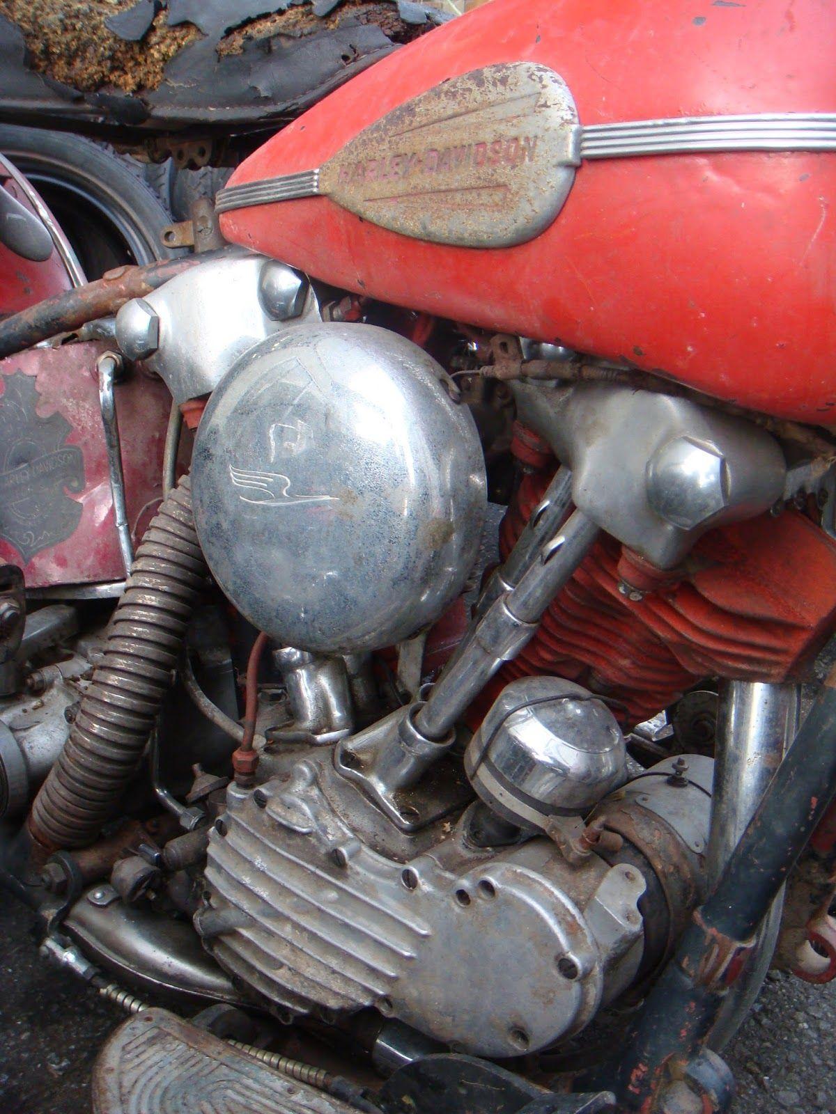 "Harley-Davidson FL/EL ""Knucklehead"" engine close-up | via ..."