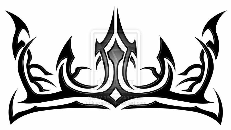 Tribal Crown Tattoo Design Crown Tattoo Design Tribal Lion King Crown Tattoo