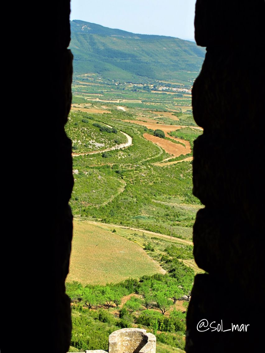 Amazing views from the  Loarre Castle,  Aragón, Spain. #love #travel #Aragón #Spain #castle #Loarre #nature #landscape