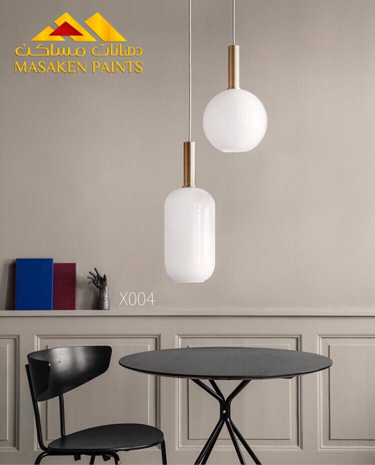 لون بيج Pendant Lamp Shade Lamp Home Lighting