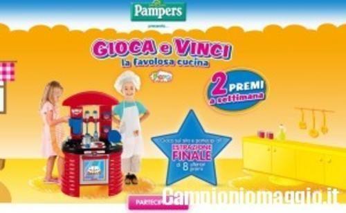 #BuoniSconto: #Con Pampers BABY DRY vinci la cucina giocattolo da  (link: http://ift.tt/1TxRMHS )
