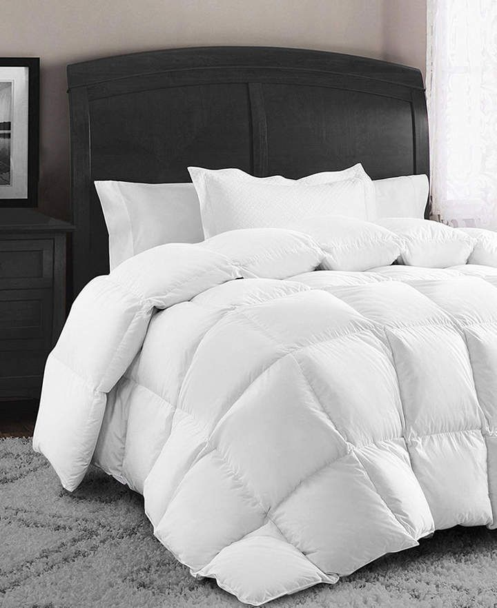 Swiss Comforts Down And Feather Cotton King Comforter Reviews Comforters Bed Bath Macy S Down Comforter Duvet Comforters King Size Duvet